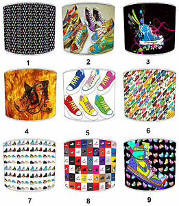 Lampshades-Ideal-To-Match-Funky-Sneakers-Duvets-amp-Funky-Sneakers-Cushions