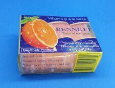 BENNETT WHITENING ANTI ACNE HANDMADE SOAP FORMULA NATURAL VITAMIN C&E 130 G