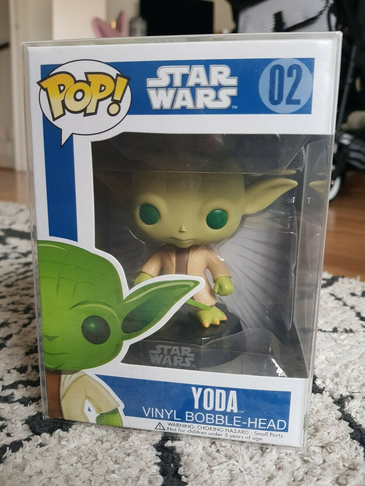 Star Wars Funko Pop Pop Pop Vinyl Series 1 Yoda 02 Bobblehead 3fb2ae
