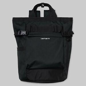 Carhartt-Payton-Carrier-Backpack-23-4L-Black-White-I026874-Laptopfach-Neu