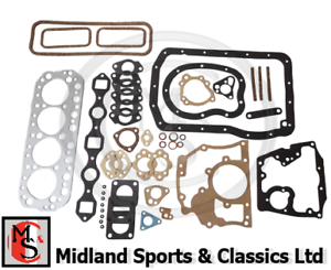 BEK493-MGB-HEAD-TOP-GASKET-amp-BOTTOM-END-GASKET-SET-5BRG-64ON-AJM1163-AJM273