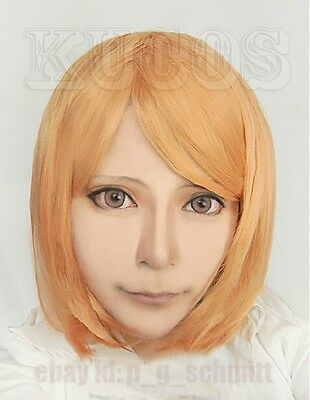 Attack on Titan Petra Rall Short Anime cosplay costume Party wig + Free wig cap