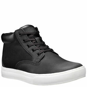 TIMBERLAND MEN'S DAUSET CUP CHUKKA BOOTS A1P1Y BLACK ALL SIZES RETAIL $110