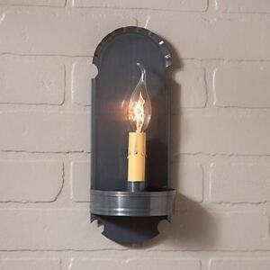 COUNTRY tin handcrafted electric wall sconce light /nice