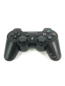 Sony-PlayStation-3-Model-CECHZC1E-Wireless-Sixaxis-PS3-Controller-Black-FC7503