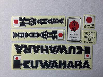 Nos BMX KUWAHARA Frame decal sticker KE KY KZ 1 2 laserlite nova survivor apollo