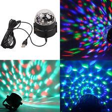 18W RGB Rotating Ball Effect Led Stage Lights KTV Party Club Bar Disco DJ Lamp