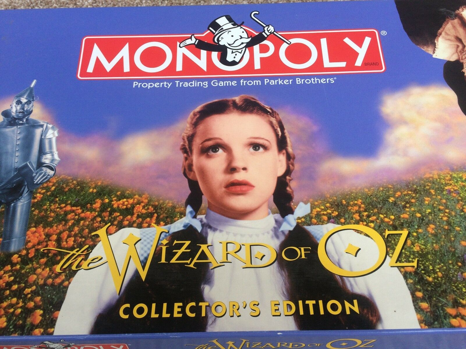 Monopoly wizard of oz collectors edition new great fun game pieces
