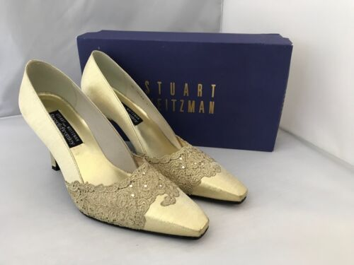 Shoes Charisma Bromley Russell Stuart Donna Shoes Weitzman Uk 6 Lace 5 Golden wf0qYH