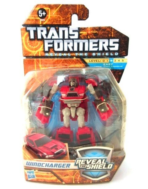Transformers Reveal the Shield   WINDCHARGER   MOSC MIB UK Classics not G1 Hasbr