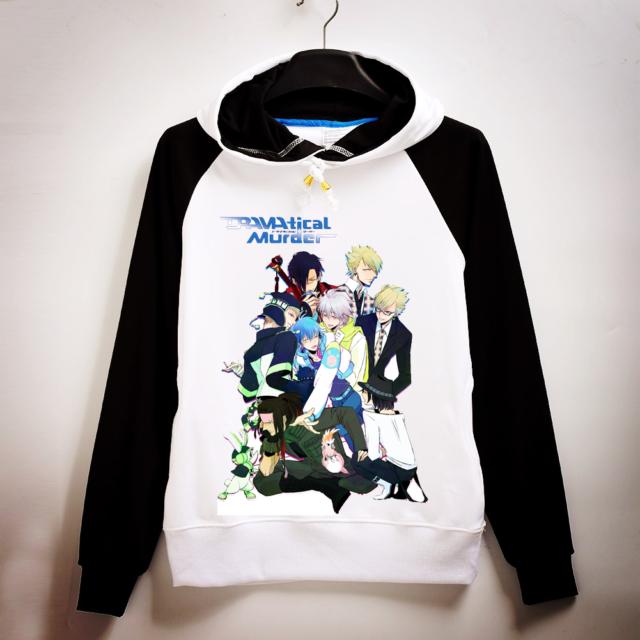 Anime Hoodie Dramatical Murder DMMd Noiz Rabbit Cosplay Sweater Sweatshirt Coat