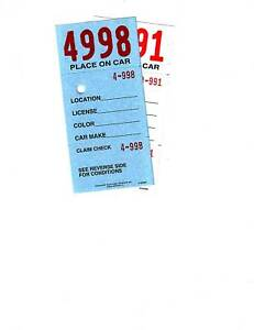3-PART-VALET-PARKING-TICKET-with-KEYHOLE-2-Sided-W-DESCRIPTION-1000-per-pack