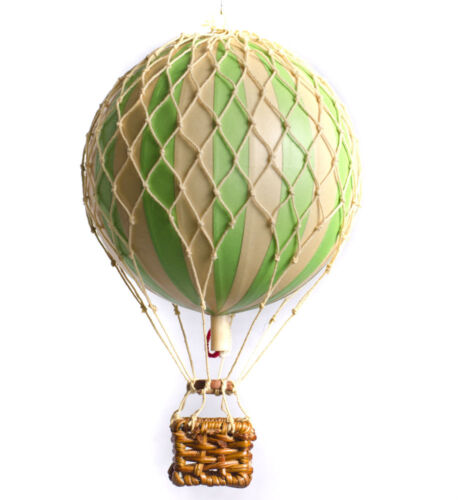 Small Model Hot Air Balloon Green Mobile