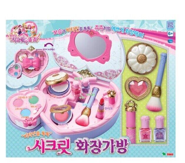 Rollo de maquillaje, estuche de maquillaje, sin veneno, ingrojoientes naturales moderados, juguetes para niñas.