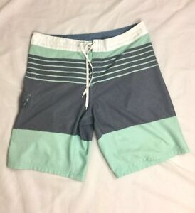 a6bb8c4690 Burnside Men's Colorblock Board Shorts Light Green Gray Size 34 | eBay