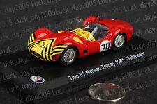 Maserati Tipo 61 Nassau Trophy 1961 #78 Schroeder 1/43 Diecast Model