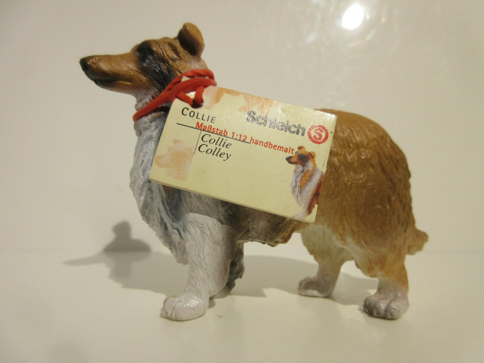 16304 Schleich Dog: Collie booklet MADE IN GERMANY  ref: 21P46