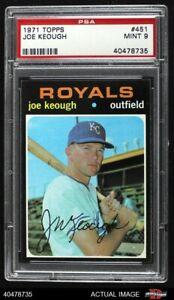 1971 Topps #451 Joe Keough Royals PSA 9 - MINT