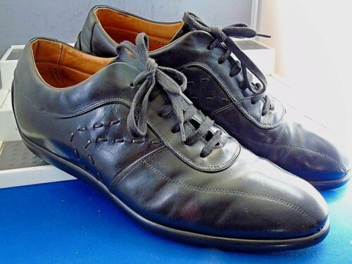 Casual Sergio Leather driving 8 Shoes 9 Smart Rossi 42 Us italy Black Eu Uk qHXwf6TxHn