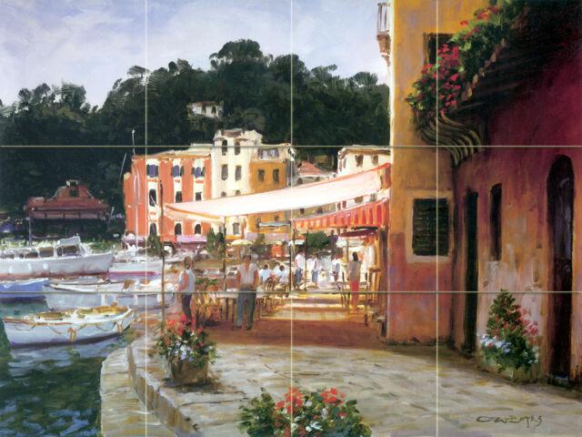 Mural Sea Yacht Ceramic Bath Backsplash Decor Tile #90