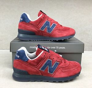 Details about Rare New Balance US574XAD Made In USA Navy Blue Red Men's Size 7 Women's 8.5