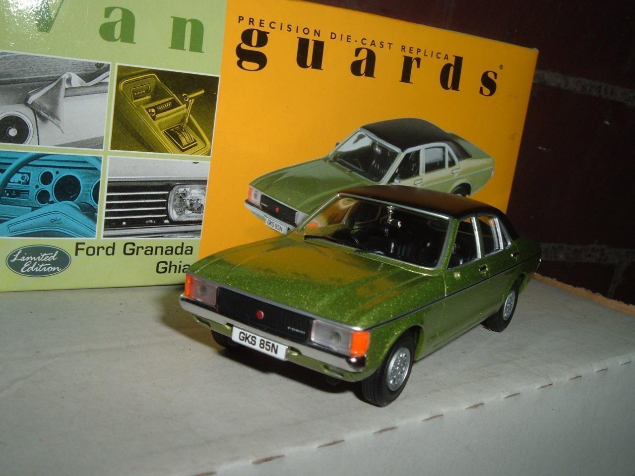 VANGUARDS VA05202 - FORD GRANADA GHIA - BOXED 1 43 SCALE - ONYX GREEN METALLIC -