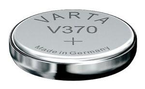 Praktisch 5 X Varta 370 Sr920w Rw415 Uhrenbatterien 1,55v