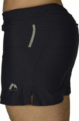 More Mile Plus-Tech SQUARE-CUT homme Shorts de Course