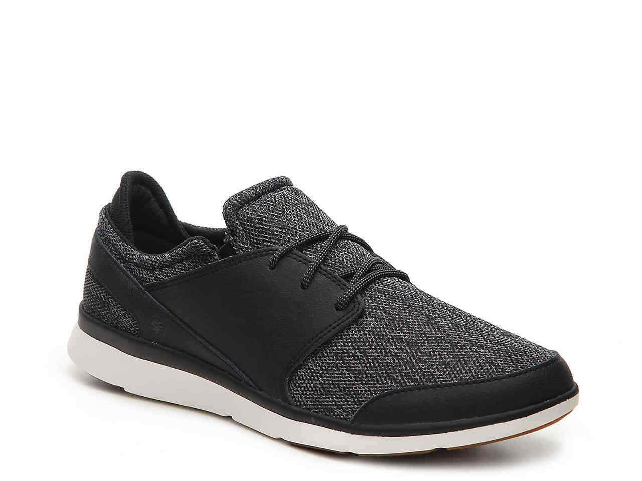 Superfeet SHAW Mens Black Mesh Lace Up Comfort Walking Sneaker shoes