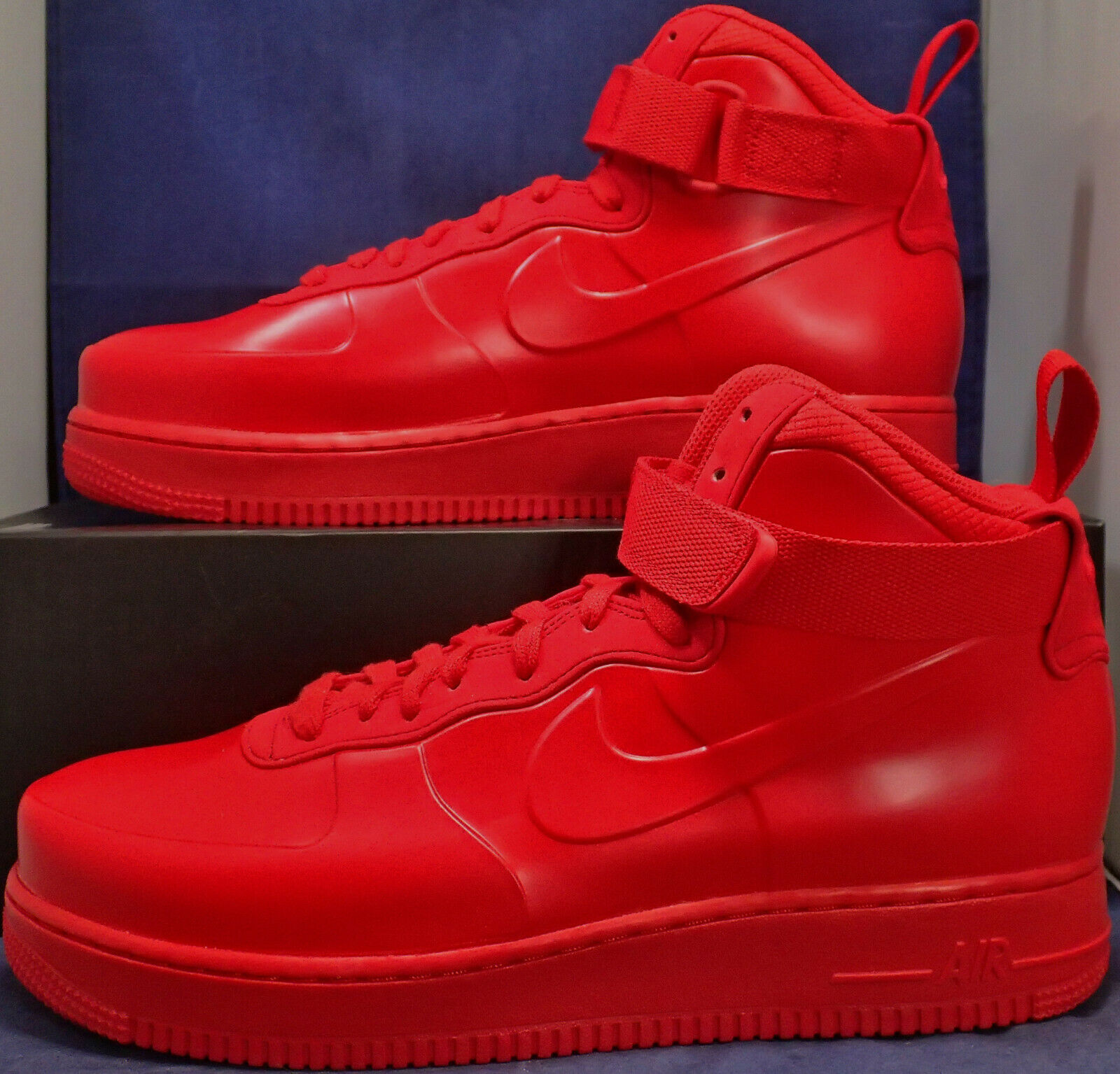 Nike Air Force 1 Foamposite Körbchen Na University Rot Sz 10 (BV1172-600)
