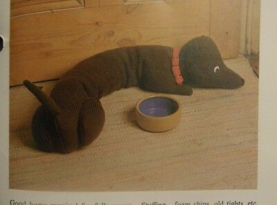 HAND KNITTING PATTERN FOR DACHSHUND DRAUGHT EXCLUDER 33 1 ...