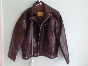 NOS Vintage Motorcycle Jacket - Size Large L