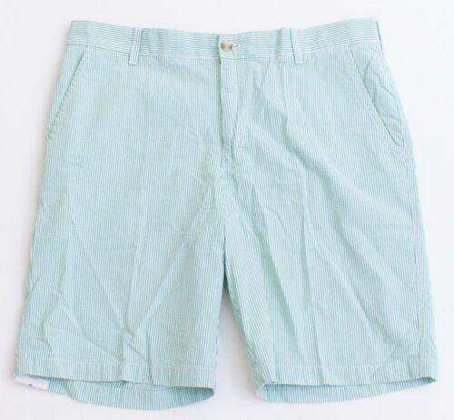piatti Nwt Pantaloncini Izod e Bay Sandy verdi bianchi uomo anteriori Seersucker da W00wPtngZq