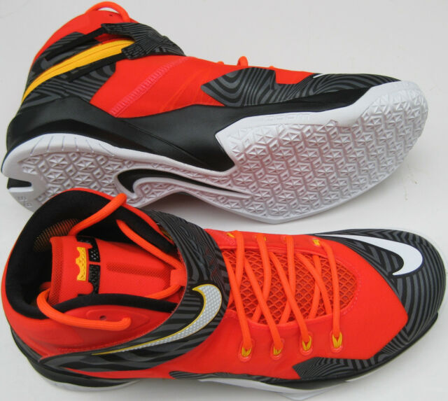 8575c659ca4 Nike Zoom Lebron Soldier 8 Premium Basketball Men s Shoes 688579 ...