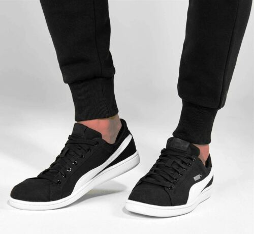 Bianco Scarpe 42 Trainer Canvas Men's Nero Puma Smash Sneakers Ginnastica Uomo pqwxpUz1g