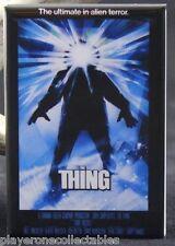 "The Thing Movie Poster 2"" X 3"" Fridge Magnet. Kurt Russell Classic Horror!"