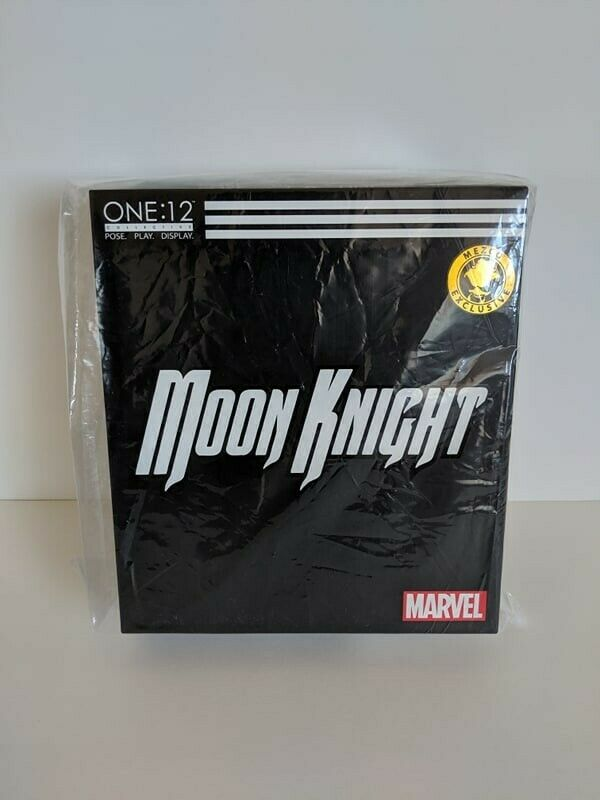 2019 SDCC COMIC CON MEZCO ONE 12 MARVEL MOON KNIGHT  CRESCENT edizione EXCLUSIVE  qualità di prima classe