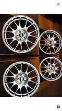 """18"""" 8j Cerchi in lega BMW SERIE 1 3 ruote in lega bbs ch stile Motorsport 5x120"""