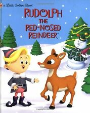 Little Golden Book: Rudolph the Red-Nosed Reindeer by Rick Bunsen (2000, Hardcover)