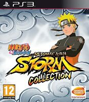 Naruto Shippuden Ultimate Ninja Storm Collection 1 2 3 Full Burst Playstation 3