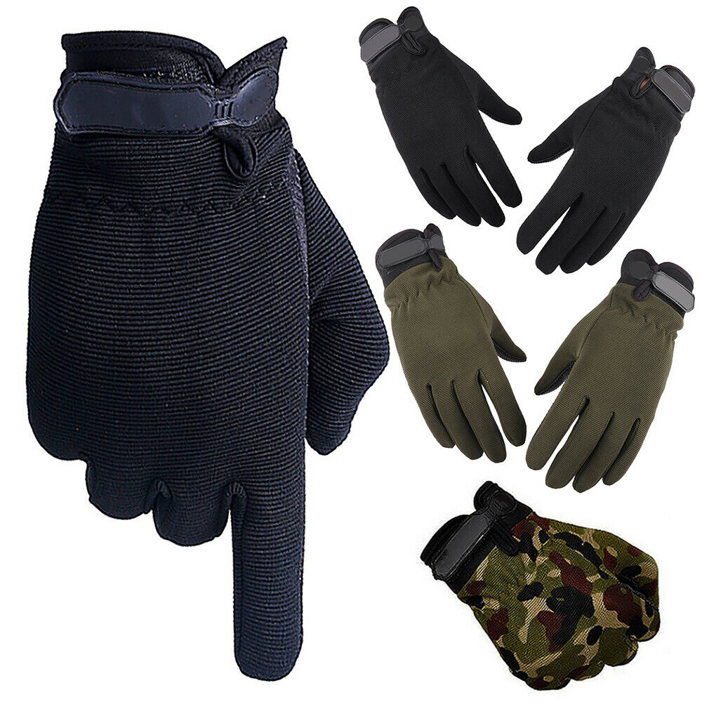 New Men Women Military Tactical Airsoft Shooting Hunting Full Finger Gloves XS-M
