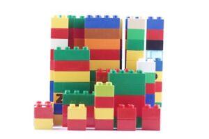 1 kg de blocs de construction de base Lego Duplo 100x 4er (2x2) 30 blocs de construction 8er (4x2) Kilo
