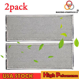 "4x W10208631A Filter for Whirlpool Microwave Oven Grease Filter Approx 13/"" x 6/"""