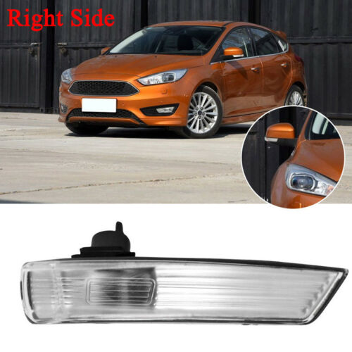 Right Wing Mirror Indicator Lens turn Signal Light Cover For Ford Focus 08-2015