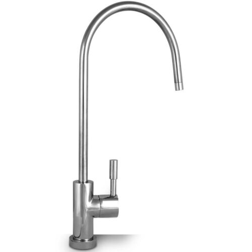 European Design RO Water Faucet Polished Chrome for Any Reverse Osmosis System