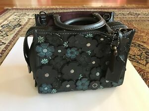 0f531927a7 Details about NWT COACH 1941 Rogue 25 with Tea Rose 58840 Color Midnight  Navy/Black Copper