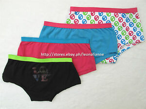 60-OFF-4-PACK-IMAGINE-GIRL-039-S-BOYSHORTS-PANTIES-6-8-YEARS-BNEW-IN-PACK-US-9-99