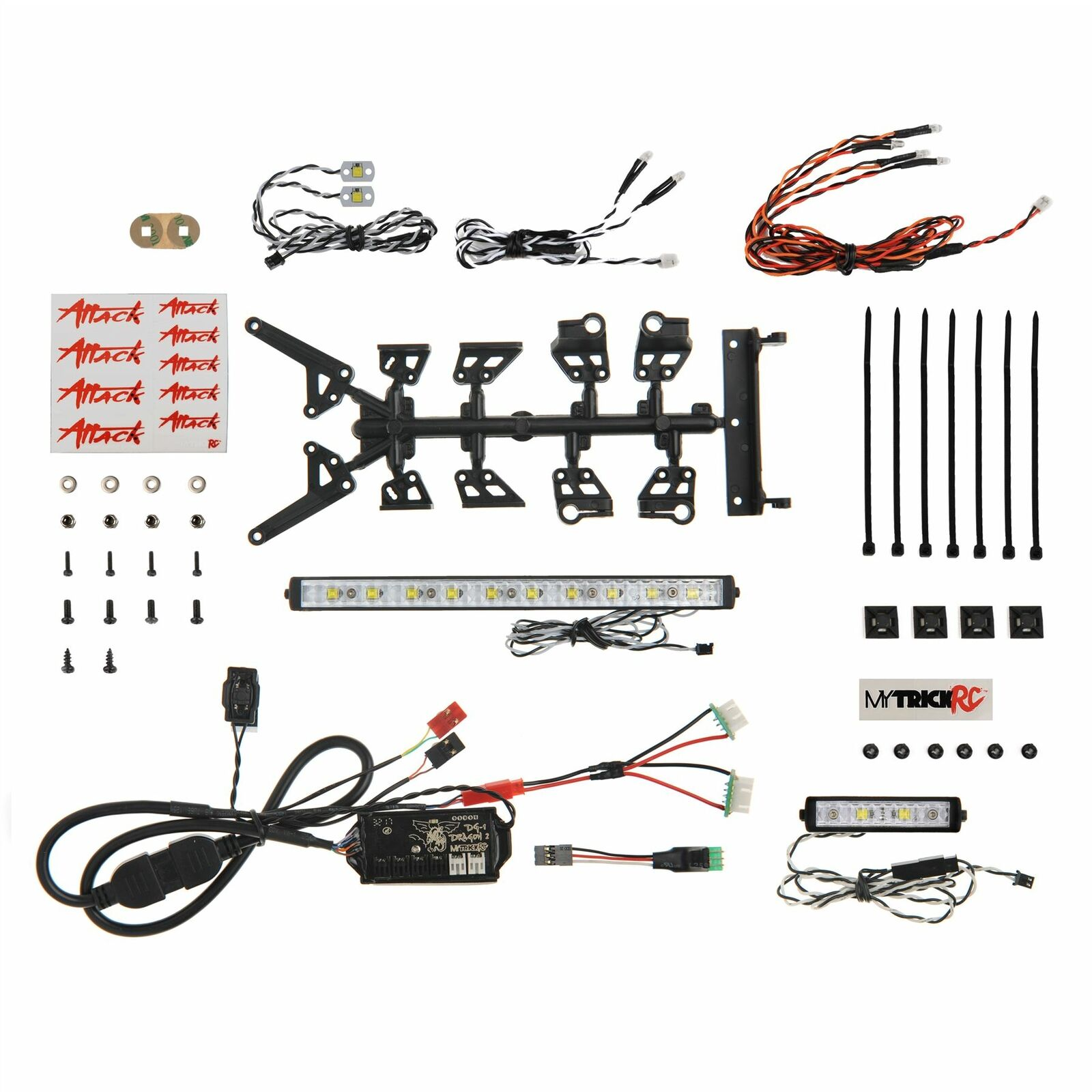 Mytrickrc-Attack Off-Road 1062 Kit De Barra De Luz-controlador 1-DG-1