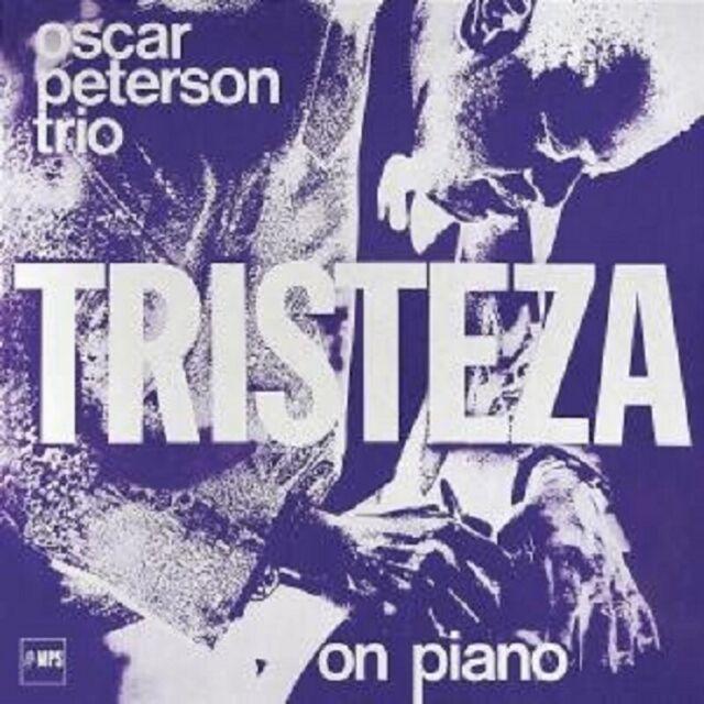 "OSCAR PETERSON ""TRISTEZA ON PIANO"" CD NEUWARE"