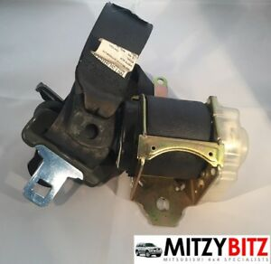 NSR-IZQUIERDO-GRIS-Trasero-Cinturon-de-seguridad-para-MITSUBISHI-MONTERO-SPORT
